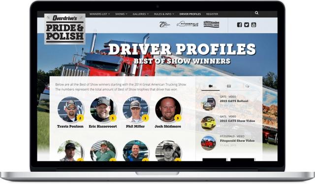 Website Design Trucking