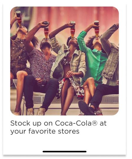 drinking coke