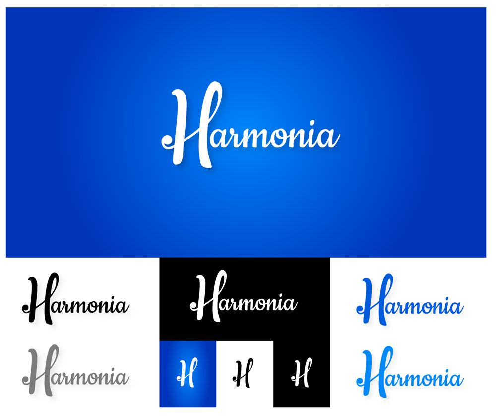 Harmonia logo design